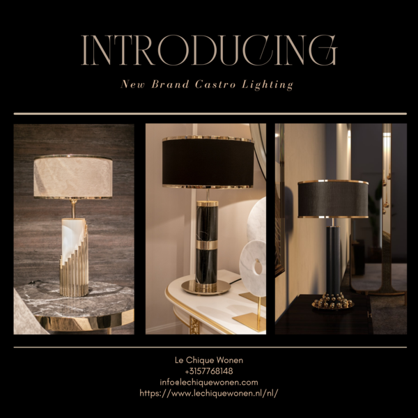 Table lamps Selection