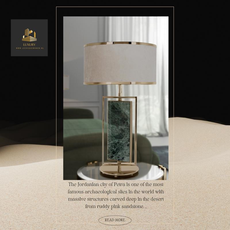 Castro Lighting  Petra table lamp   green Jade
