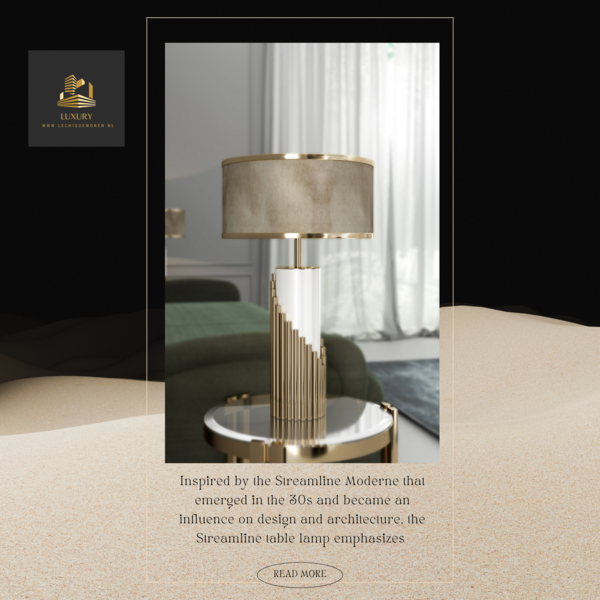 Castro Lighting  Lampe de table Streamline