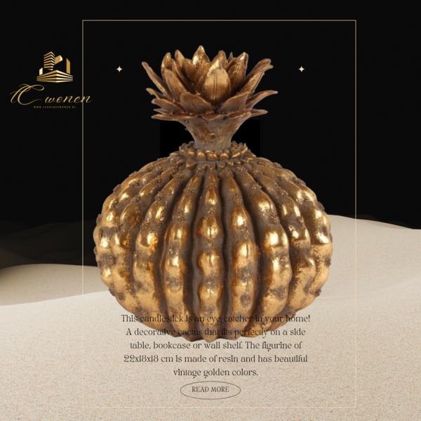 Dutch & Style Cactus decoration 22 cm