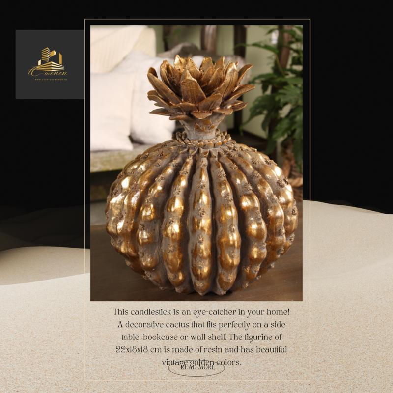 Dutch & Style Cactus deco 22 cm