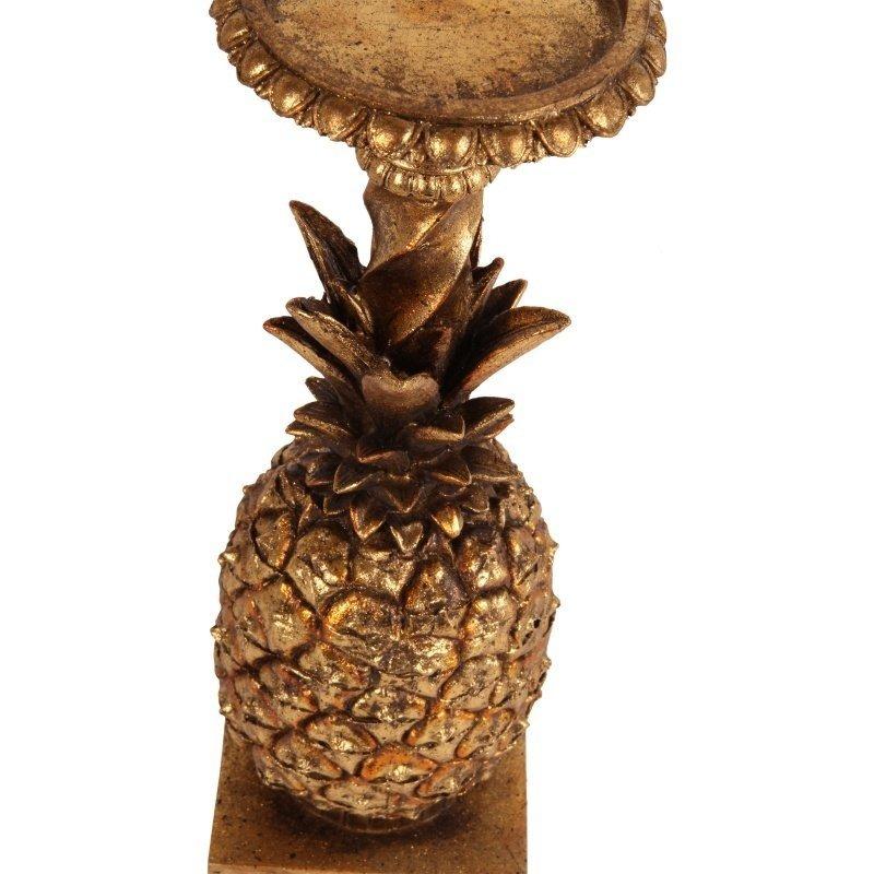 Dutch & Style Candlestick pineapple 30 cm