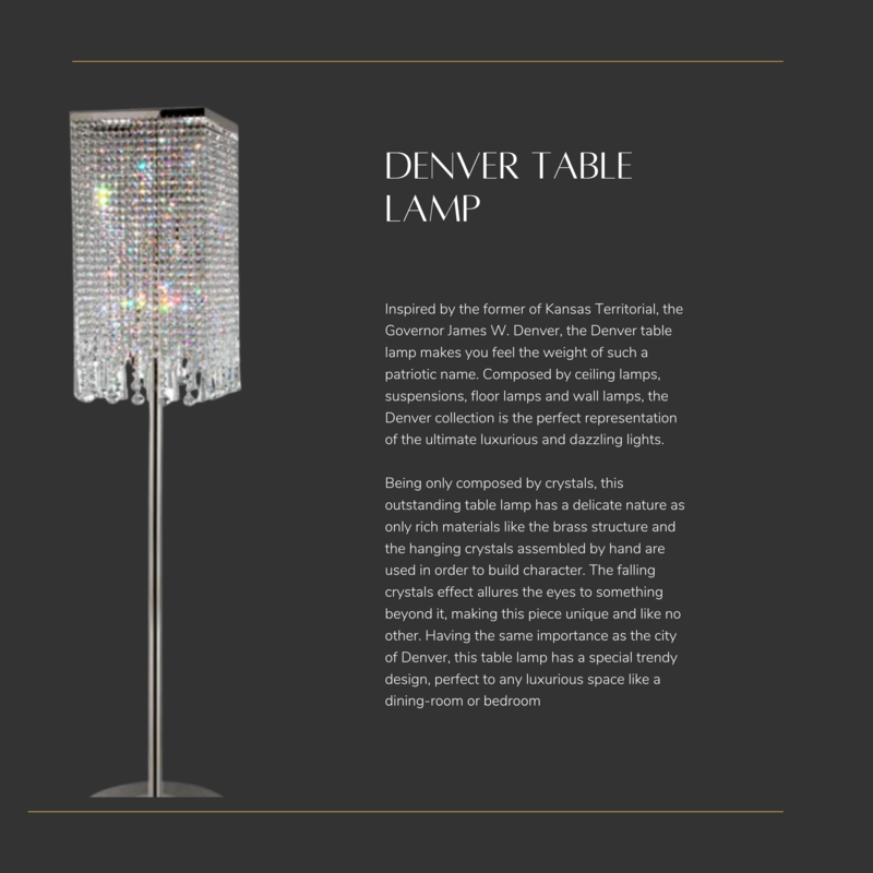 Castro Lighting  Denver Table Lamp