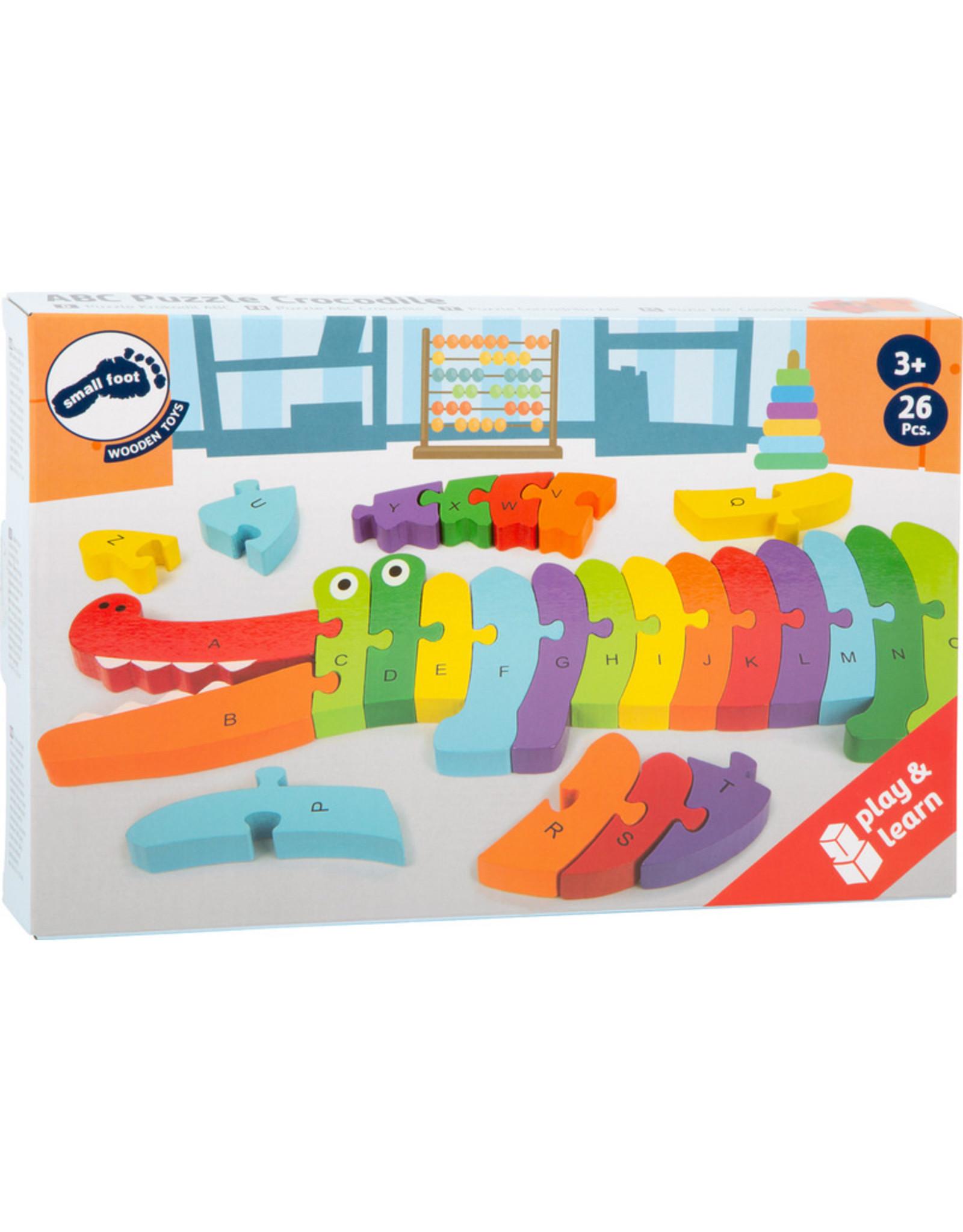 """Small Foot ABC puzzel """"krokodil"""""""