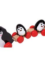 Small Foot Trekspeeltje pinguïn familie