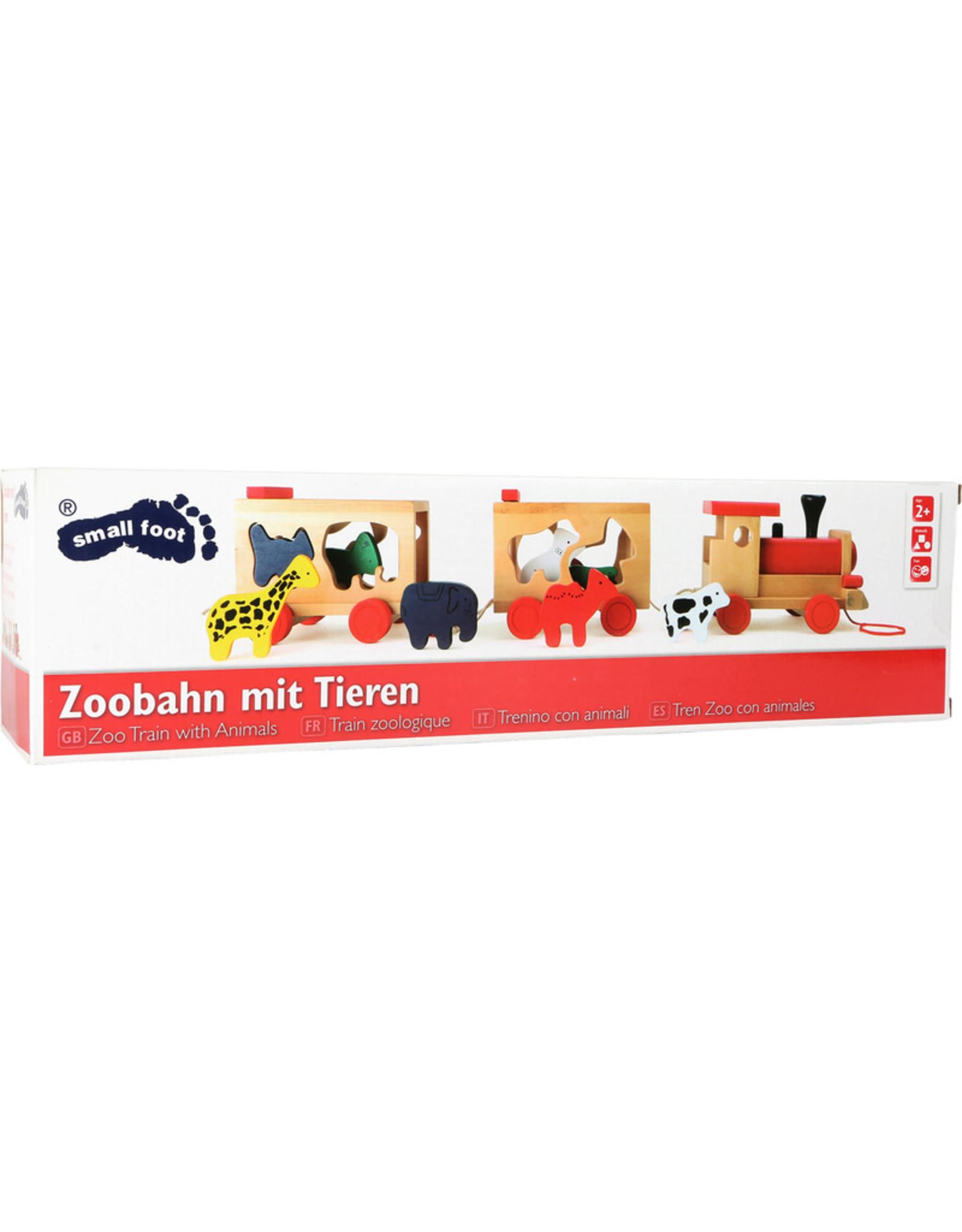 """Small Foot Houten trein """"dierentuin"""""""