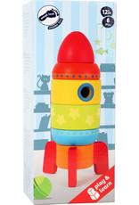 Small Foot Stapeltoren raket