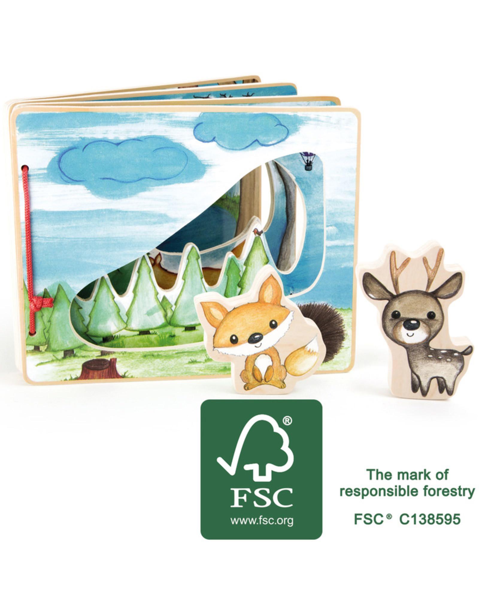 Small Foot Prentenboek bos, interactief