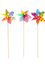 Small Foot 24 kleurrijke windmolens
