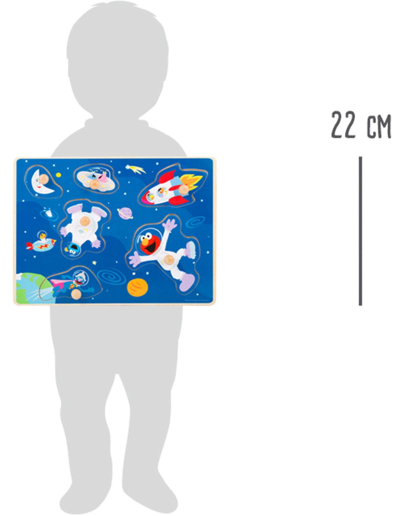 Small Foot Sesamstraat ruimte puzzel