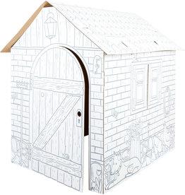 Small Foot Kartonnen speelhuis klein huisje