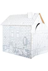 Small Foot Kartonnen speelhuis boerderij