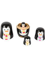 Small Foot Matroesjka pinguïn familie