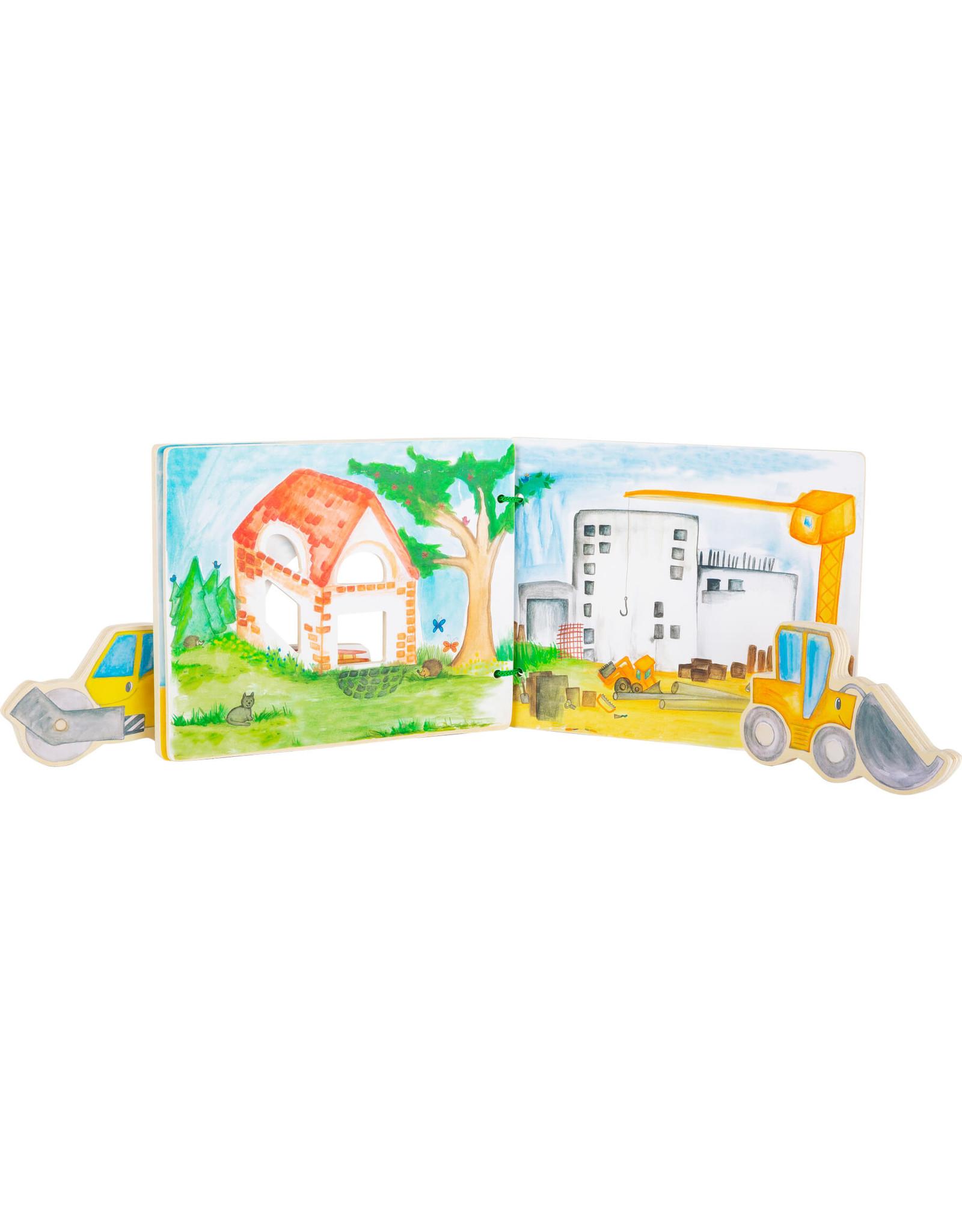 Small Foot Prentenboek bouwplaats, interactief
