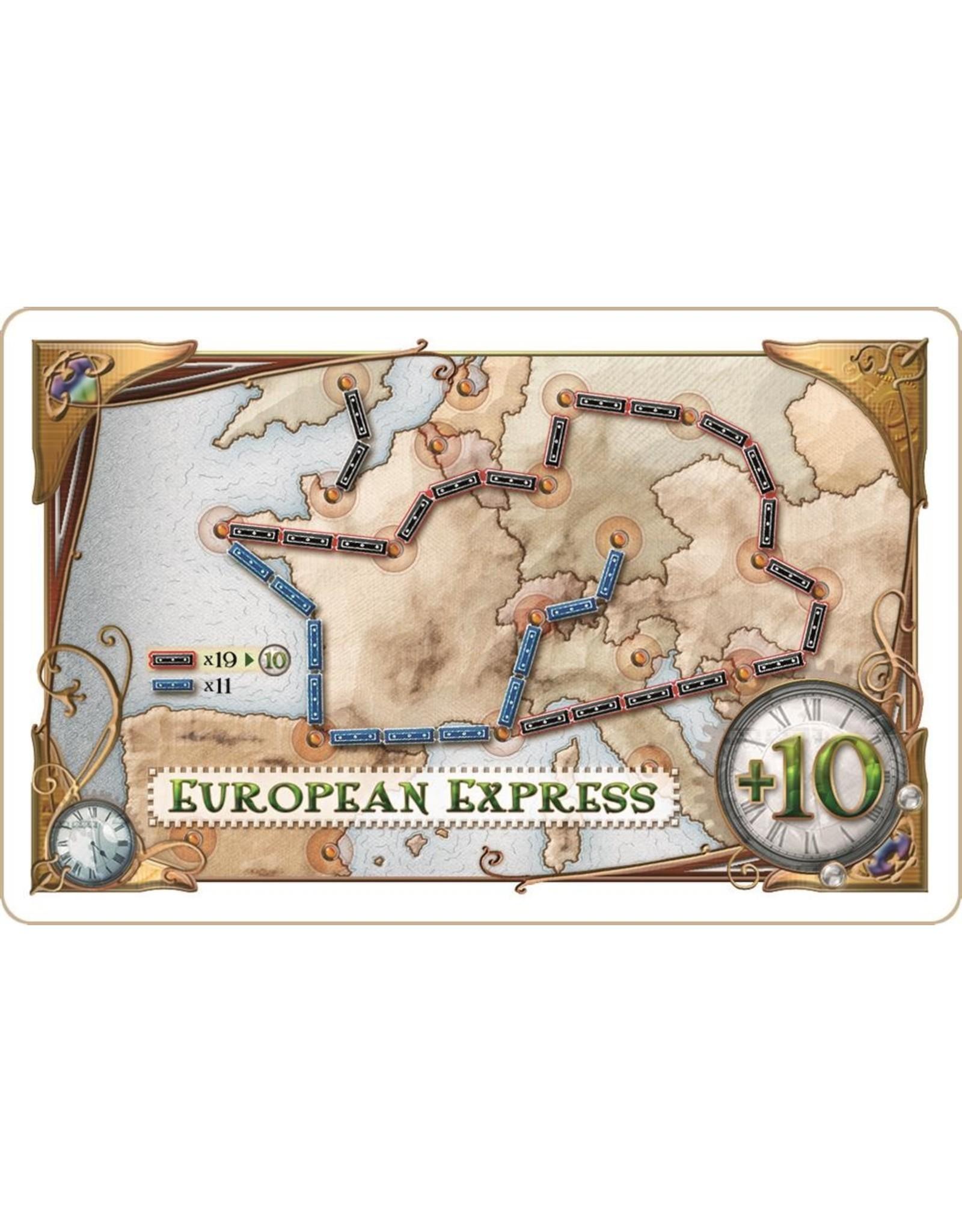 Days of Wonder Ticket to ride Europe - Bordspel 8+