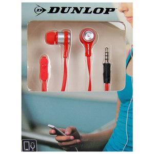 Dunlop In-ear sport oordopjes rood