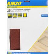 Kinzo Universeel schuurpapier, set 20 stuks