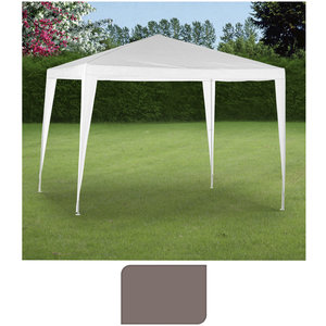 Ambiance Partytent 300x300cm taupe