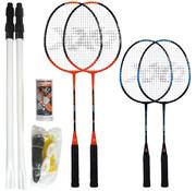 XQ Max XQ MAX Badmintonset voor 4 spelers