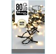 DecorativeLighting Kerstverlichting 80 LED's 6 meter warm wit