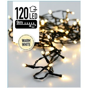 DecorativeLighting Kerstverlichting 120 LED's 9 meter warm wit