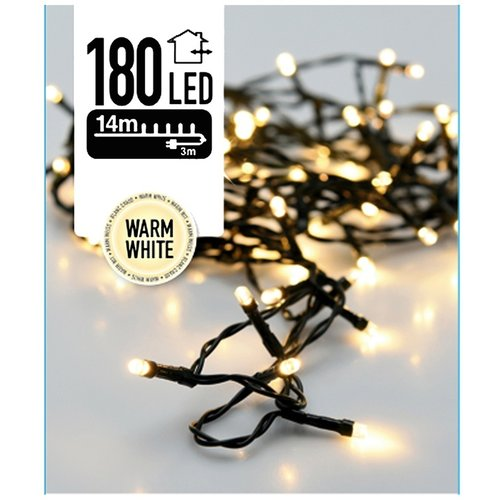 DecorativeLighting LED-verlichting 180 LED's 13.5 meter warm wit