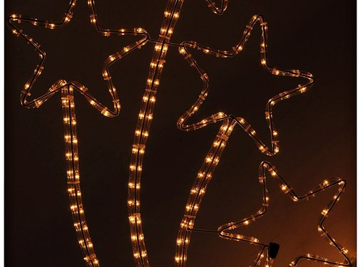 DecorativeLighting Slangverlichting sterren 72 cm