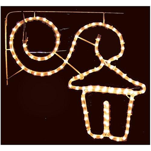 DecorativeLighting Lichtslang Kerstlantaarn