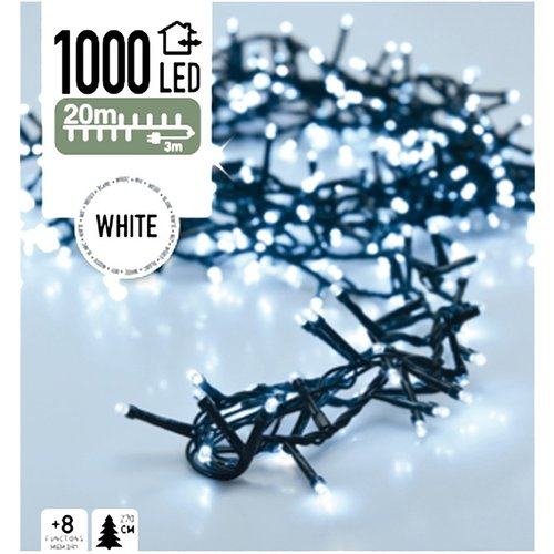 DecorativeLighting Micro Cluster 1000 LED's 20 meter wit