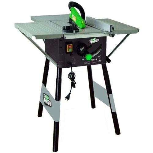 Buildworker Zaagtafel - 1500W - Ø250 mm - met onderstel