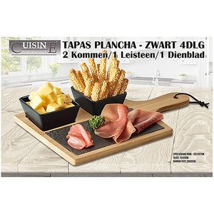 Cuisine Performance Tapas Plancha - 4 delig