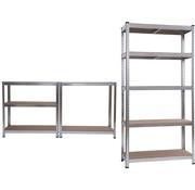 WorkMen Metalen opbergrek - 180x90x40cm