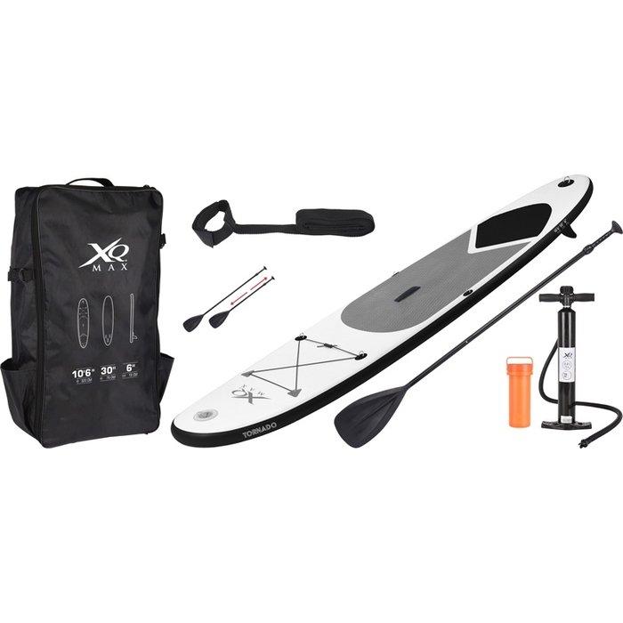 SUP-board 320cm grijs - met accessoires