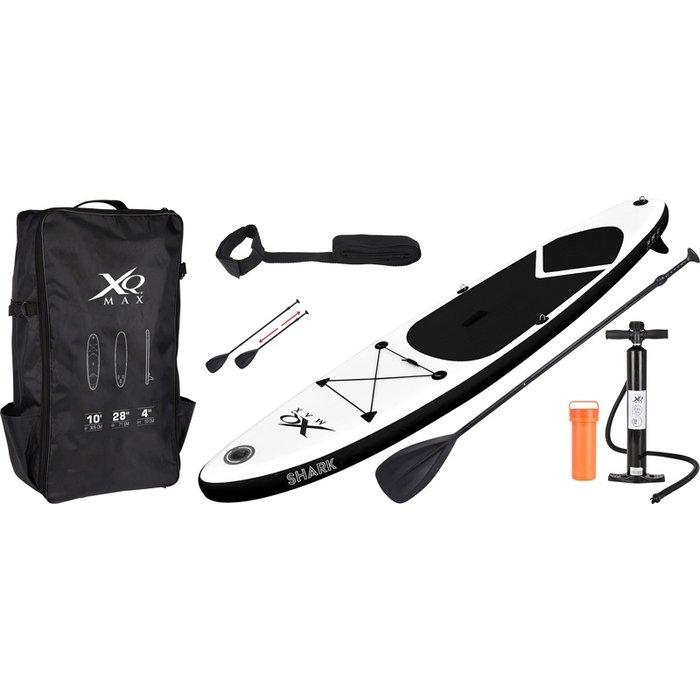 SUP-board 305cm zwart - met accessoires