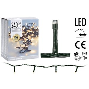 DecorativeLighting LED-verlichting 240 LED's 18 meter - extra warm wit