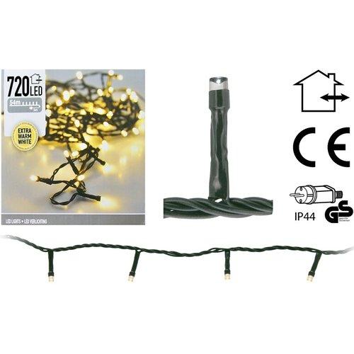 DecorativeLighting LED-verlichting 720 LED's 54 meter - extra warm wit