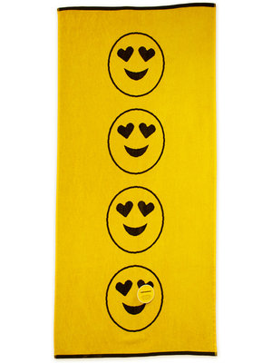Emoticon Strandlaken 150x75