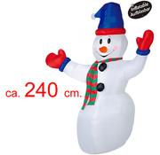 Opblaasbare sneeuwman 240cm