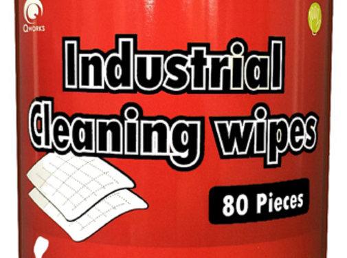 QWorks  Industriële reinigingsdoekjes 20x30cm (80 stuks)