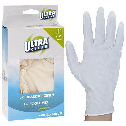 Latex handschoenen, 10 stuks