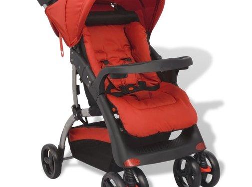 vidaXL Buggy rood 102x52x100 cm