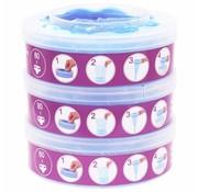 vidaXL Navulcassette voor Sangenic TEC Diaper Twisters MK3/4/5 3 st