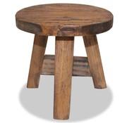 vidaXL Kruk 20x20x23 cm massief gerecycled hout