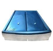 vidaXL Waterbedmatrasset met voering en verdeler 180x200 cm F3