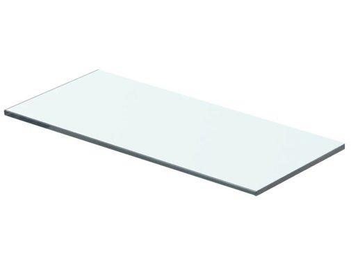 vidaXL Wandschap transparant 40x12 cm glas