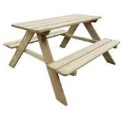 vidaXL Picknicktafel voor kinderen 89x89,6x50,8 cm FSC grenenhout