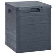vidaXL Opbergbox 90 L antraciet