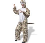 vidaXL Carnavalskostuum tijger M-L