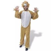vidaXL carnavalskostuum leeuw XL-XXL