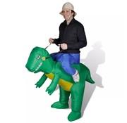 vidaXL Dinokostuum opblaasbaar